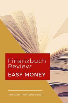 """Wenn du beginnst, dich um deine Finanzen zu kümmern, kann das einschüchternd wirken. Womit sollst du beginnen? So viele Fragen, und du hast keine Ahnung, wo du starten sollst. Das Finanzbuch """"Easy Money – Wie du deine Finanzen regelst, endlich vorsorgst und trotzdem gut lebst"""" baut eine ziemlich hohe Erwartungshaltung auf. Aber kann der Inhalt halten, was der Titel verspricht oder erwartet dich nur eine Enttäuschung? #finanzen #persönlichefinanzen #weiterbildung #cherrycoin Easy, Money, Blog, Further Education, Finance, Tips, Silver, Blogging"""