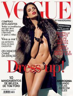 Sara Sampaio by Luis Monteiro for Vogue Portugal Sara Sampaio, Fashion Cover, Daily Fashion, Versace, Vogue Portugal, Dress Up, Nude Portrait, Vogue Covers, Famous Celebrities