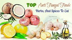 Anti-fungal foods, herbs and spices cover the best items that contain high contents of anti-fungal properties people should use! Healthy Food List, Healthy Foods, Healthy Eating, Clean Eating, Foods To Lower Triglycerides, Potato Health Benefits, Calendula Tea, Fungal Infection Skin