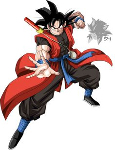 Time Patrol Goku by MAD-54