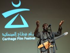 Senegalese singer Youssou N'Dour performs during the closing ceremony of the 26th Carthage Film Festival on November 28 2015 in Tunis AFP PHOTO /...