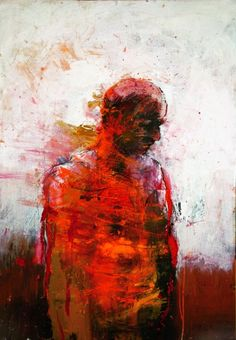 arpeggia:  Christophe Hohler Abstract Canvas, Oil Painting On Canvas, Painting & Drawing, Art Van, Figurative Kunst, Arte Horror, Abstract Portrait, To Infinity And Beyond, Art For Art Sake
