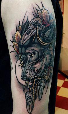 Wolf design idea