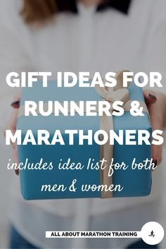 Looking for a gift for a runner or marathoner? Here are some budget friendly options and there are lists for both men and women! Diy Christmas Gifts For Boyfriend, Homemade Christmas Gifts, Boyfriend Gifts, Holiday Gifts, Gifts For Marathon Runners, Gifts For Runners, Marathon Training For Beginners, Marathon Motivation, Diy Gifts For Men