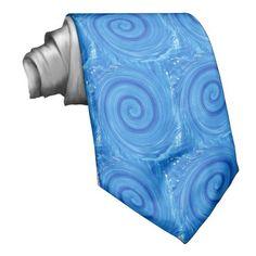 Blue-whirlpool, tie