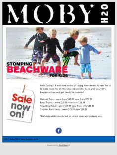 Check out Moby H2O latest Sale