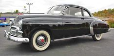 1949 Chevrolet Deluxe: Drivers Side Front View