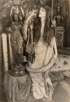 "Theda Bara ~ The Serpent (1916) """