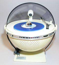 VERY RARE 1970S SANYO PHONOSPHERE PSYCHEDELIC DISCO MIRROR BALL VINTAGE SPACEAGE #Sanyo