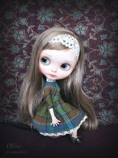 Reserved for Eve Custom Blythe doll ooak par AlmondDoll sur Etsy
