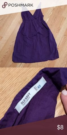 Purple Old Navy XS Beach Summer Dress Excellent condition. Worn once. Size XS. Too short for me. Would be a great beach cover-up! Old Navy Dresses Mini