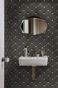 Papier peint étanche / waterproof wallpaper Wall & Deco / Richardson Chambéry (73) France