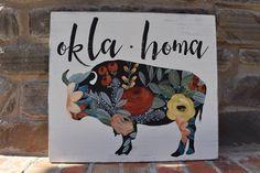 Floral Buffalo | Okl