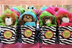 """Zoo / Birthday """"Wild Time at the Zoo"""" FAVORS"""