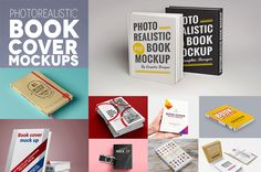 Free Book Mockups PSD for Cover Designs