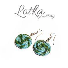 FIMO earrings, see more on www.idadi.pl/lotka/kolczyki.html