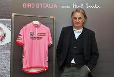Sir Paul Smith unveils 2013 Giro d'Italia maglia rosa in Milan - now with video | road.cc | Road cycling news, Bike reviews, Commuting, Leisure riding, Sportives and more