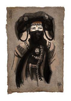Princesa mongol por Tsabo6