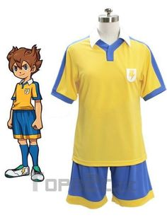 Inazuma.Eleven.Go Anime Cosplay Footbal Jersey For Summer
