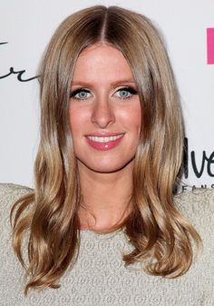 Honey blonde ~~~~ nicky-hilton-hairstyle