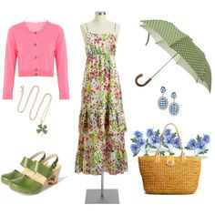 Lucky Spring, created by sunnynicole.polyvore.com