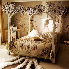 a bed to insight wonderful dreams....