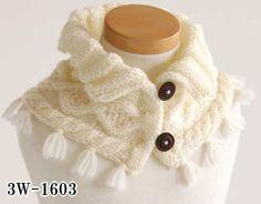 【編み図】アラン模様のネックウォーマー3W-1603やわらかラム使用※資料請求ボタンではなく『備考欄』に商品番号をお書き添え下さい Knitting, Crochet, Fashion, Long Scarf, Scarves, Chrochet, Moda, Tricot, Fashion Styles