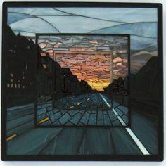 MosaicSmith: Making of my Mosaic 'Journey' Wall Art