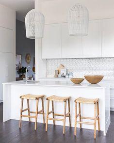 Ideas For Apartment Kitchen Renovation Style Kitchen Cost, Ikea Kitchen, Kitchen Furniture, Kitchen Interior, Kitchen Dining, Kitchen Decor, Furniture Stores, Kitchen Ideas, Dark Timber Flooring