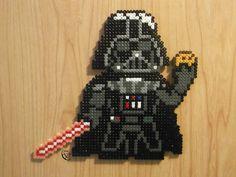 The Dark side's cookie - Star Wars hama perler beads by Cimenord on DeviantArt