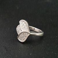 Designer 925 Silver CZ Diamonds Womens Ring by Define Jewellery