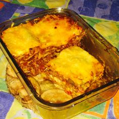 Lasaña con Salsa Boloñesa