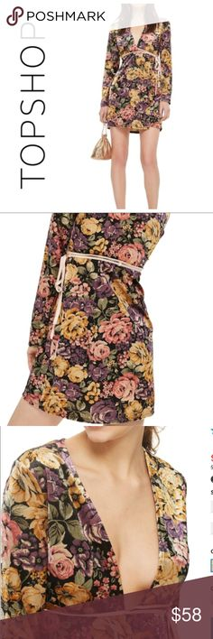 Reasonable Topshop Floral Split Maxi Skirt Uk10 Brand New Comfortable And Easy To Wear Clothing, Shoes & Accessories
