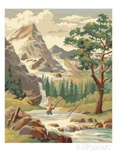 Wilderness Landscape Posters by Pop Ink - CSA Images at AllPosters.com