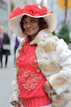 ADVANCED STYLE: At The Easter Parade