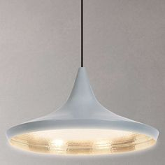 BuyTom Dixon Beat Wide Ceiling Pendant Light, Grey Online at johnlewis.com