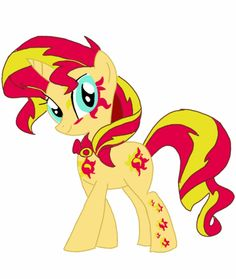sunset shimmer cutie mark - Google Search