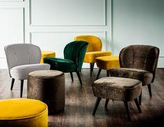Comfortabele fauteuils zorgen voor dat instant hotel lobby-effect. KARWEI