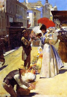 Christmas Flowers and Christmas Belles 1899