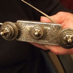 """Another view showing the refinement of the engravings...www.halter-ethnic.com   see """"Necklaces and Pendants"""""""