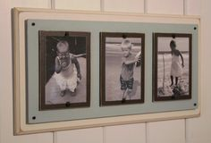 Distressed Wood Picture Frame by BeachFrames on Etsy, $59.95