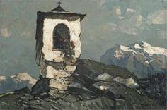 Oscar Mulley | Marterl im Hochgebirge