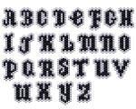 ThreadABead Mini Charm Alphabet