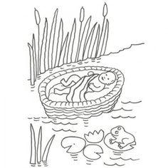 Desenhos Bíblicos para Colorir e Imprimir | Toda Atual Elias Biblia, Arabic Calligraphy, 1, Animales, Nile River, Egypt, Daughter, Pretty, Arabic Calligraphy Art