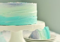 How to frost a pastel cake