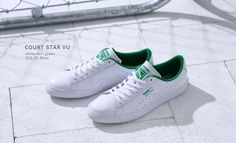 Puma Court Star: White/Green