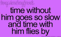 Yes it does. The time we have when he's home seems so short and when he's gone time drags on forever.