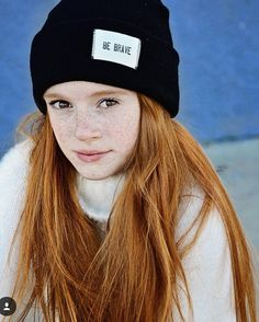 It takes courage to grow up and be who you were created to be Another amazing shot by @wendyhortonphotography of stunning @official_hannah_mccloud We love you so much!!!#teenmodel #beanies #izzybeclothing #positivefashion #endslavery #cause #fashionphotoshoot