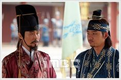"Jumong (Hangul: 삼한지-주몽 편; hanja: 三韓志-朱蒙篇주몽; RR: Samhanji-Jumong Pyeon; lit. ""The Book of the Three Hans: The Chapter of Jumong"") is a South Korean historical period drama series that aired on MBC from 2006 to 2007. The series examines the life of Jumong, founder of the kingdom of Goguryeo. Few details have been found in the historical record about Jumong, so much of the series is fictionalized. 부득불과 대소"