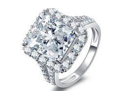 Color Gemstone Birthstone Wedding by HandmadeGemRingStore on Etsy Create Engagement Ring, Cheap Engagement Rings, Perfect Engagement Ring, Wedding Engagement, Engagement Jewelry, Silver Wedding Bands, Wedding Ring Bands, Wedding Jewelry, Gold Wedding
